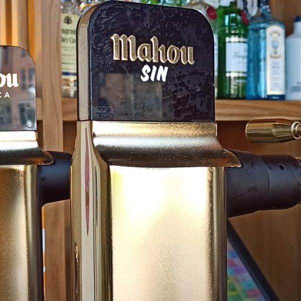 Cerveza Mahou en Dis Tinto